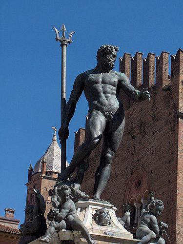 Neptune in Bologna, Italy.