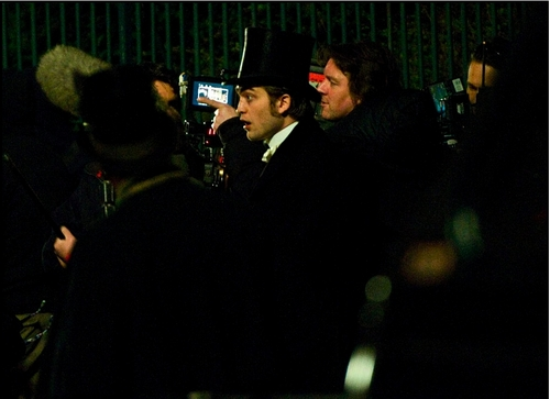New Pic's Of Robert On The Set Of Bel Ami