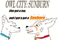 Owl City - Sunburn (bolt) - owl-city fan art