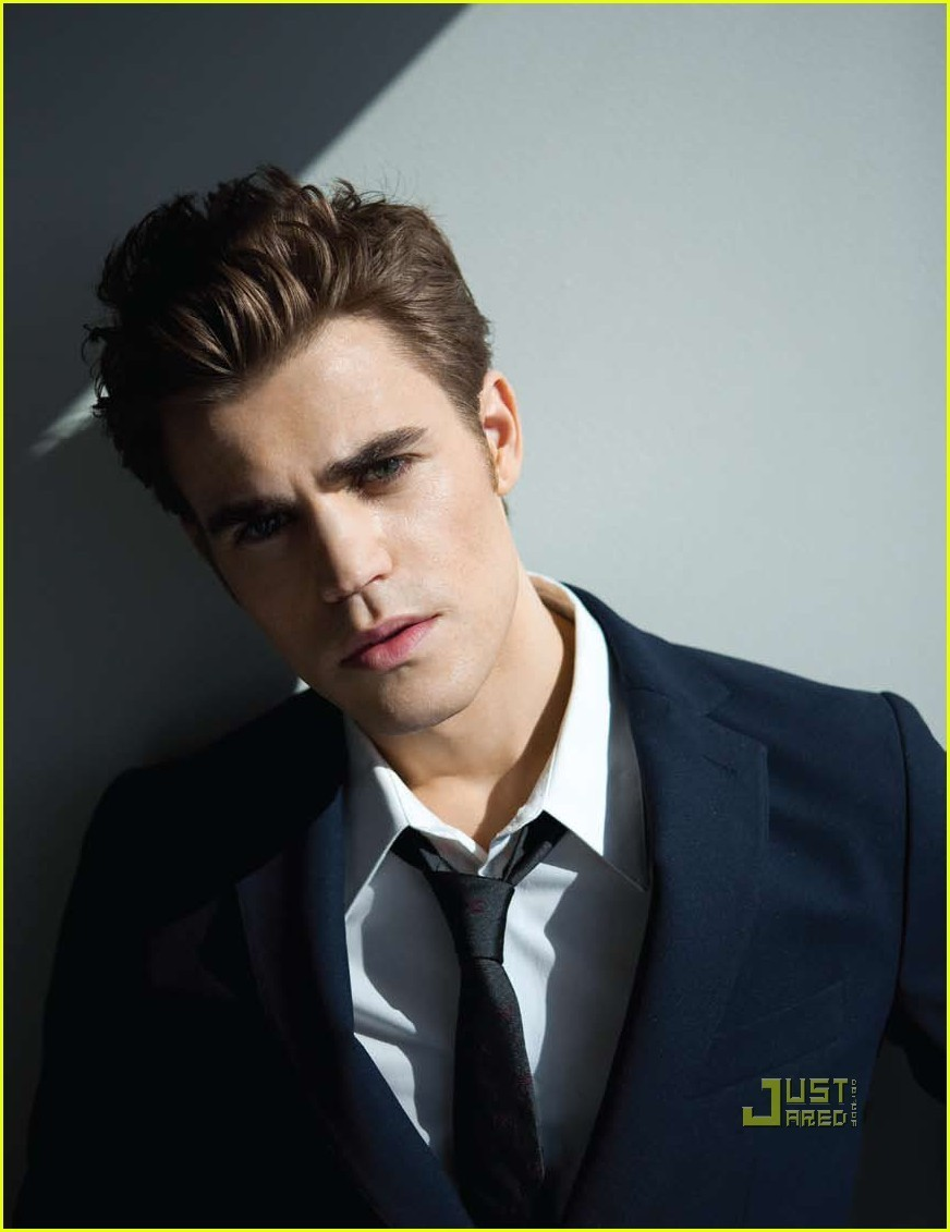 Paul Wesley_DaMan Magazine cover April 2010 - the-vampire-diaries-tv-show photo