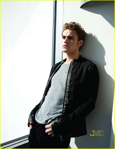 Paul Wesley_DaMan Magazine cover April 2010