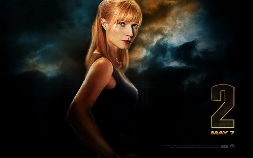 Pepper Potts - iron-man Wallpaper
