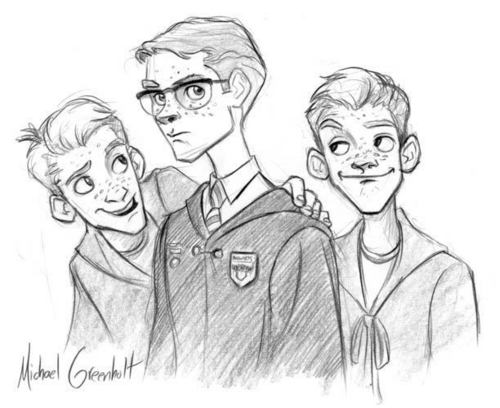 Percy, Fred, and George