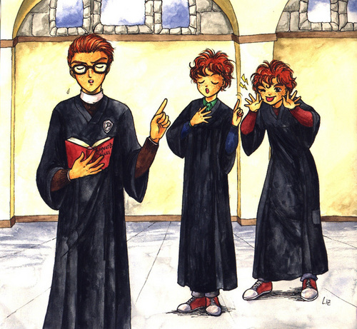 Percy, fred and George
