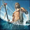 Poseidon  - greek-mythology fan art