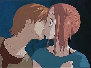 Risa frist kiss :D - romance-anime-manga Photo