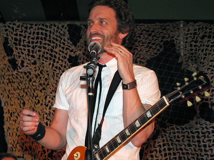 Rob Benedict concert with Louden Swain at LA Con '10