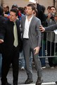 Sam Arriving at David Letterman (04.01.10) - sam-worthington photo