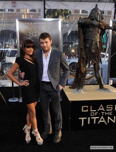 """Sam at """"Clash of the Titans"""" LA Premiere (03.31.10)"""