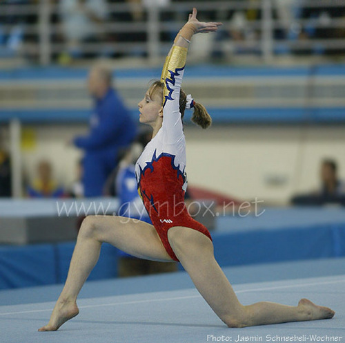 Sandra Izbasa - gymnastics Photo