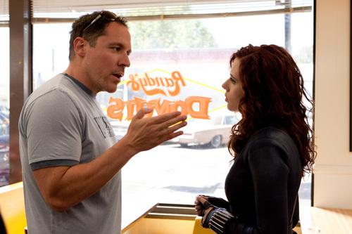 Scarlett Johansson   Iron Man 2 Production Still (HQ)