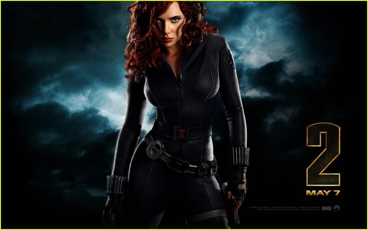 Scarlett as the Black Widow