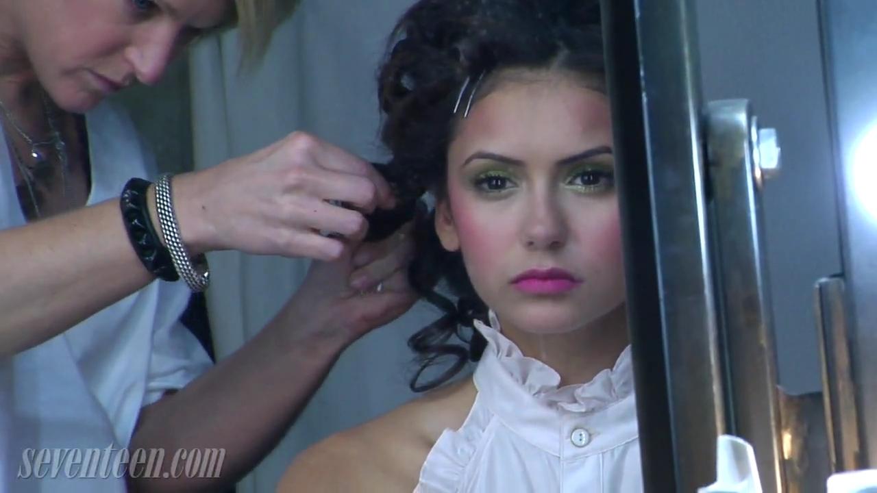 Seventeen Magazine/Behind the Scenes - Nina Dobrev