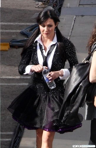 """Shannen on set of """"Dancing with the Stars"""""""