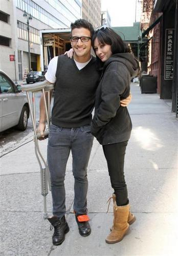 Shannen with Mark & Tim in NY