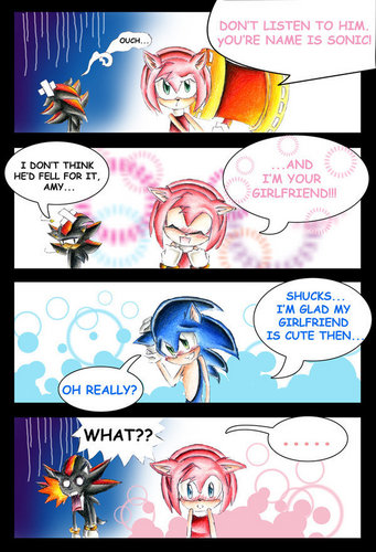 Sonamy Comic - sonic-and-amy Fan Art