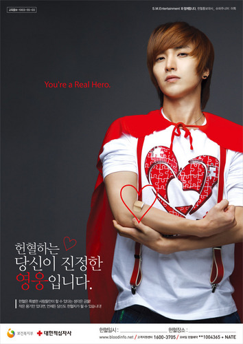 SuJu and 에프엑스 For Blood Donation Campaign
