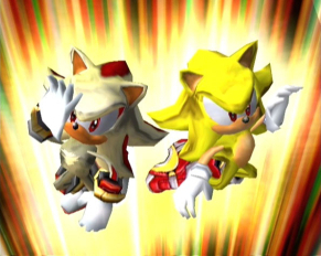 Sonic Adventure 2 Battle Images Super Sonic And Super Shadow