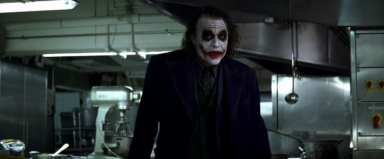 essay joker dark night In the dark knight, the joker is depicted as a maniacal criminal mastermind who terrorizes gotham city and whose goal is to plunge it into anarchy the joker has been described as a &quotpsychopathic, mass murdering, schizophrenic clown with zero empathy&quot he was portrayed by the late heath ledger.