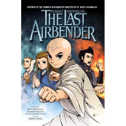 The Last Airbender Comic Book Covers