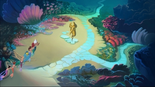 The Little Mermaid wallpaper entitled The Little Mermaid III-Ariel's beginning-