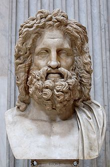 The bust of Zeus found at Otricoli (Sala Rotonda, Museo Pio-Clementino, Vatican)