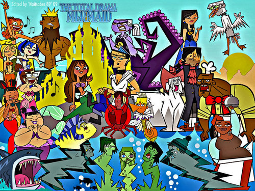 Total drama the little mermaid