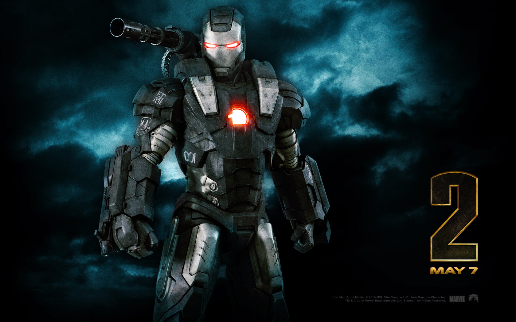 War Machine - Iron Man Wallpaper (11234828) - Fanpop