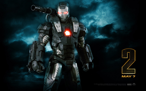 Iron Man wallpaper titled War Machine