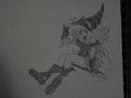 Yu-Gi-Oh! Dark Magician Girl - anime fan art