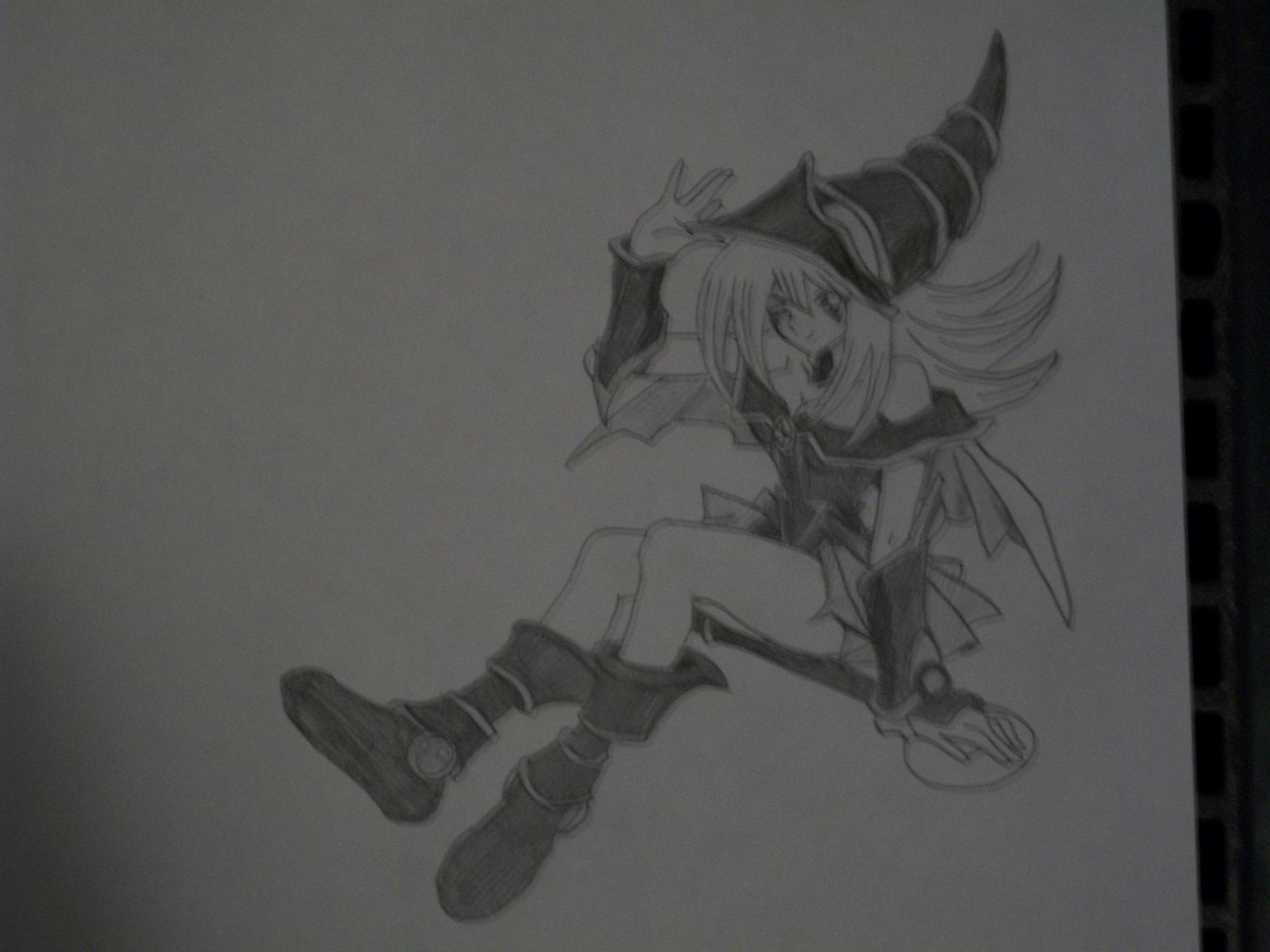 Yu-Gi-Oh! Dark Magician Girl