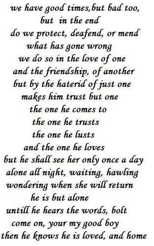 bolt poem