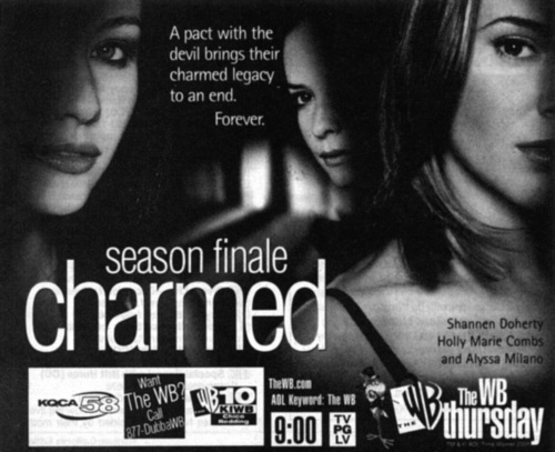 Charmed promo from season 3