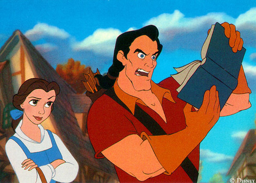Classic Disney wallpaper entitled Belle And Gaston