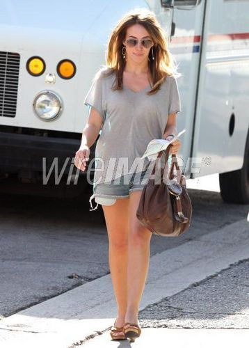 haylie out and about in los angeles