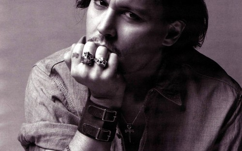 johnny depp wolpeyper (widescreen)