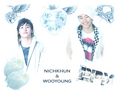 2pm - nichkhun and wooyoung wallpaper