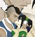 sokka and toph's kiss