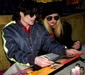 with Karen Faye - michael-jackson photo