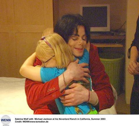 ♥ Michael with children ♥