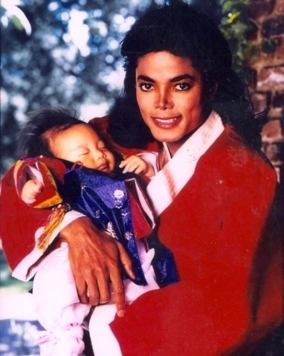 ♥ Michael with children ♥