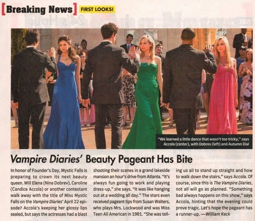 1x19 - Miss Mystic Falls - TV Guide Scan