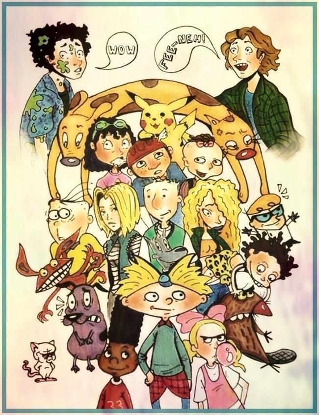 90s कार्टून