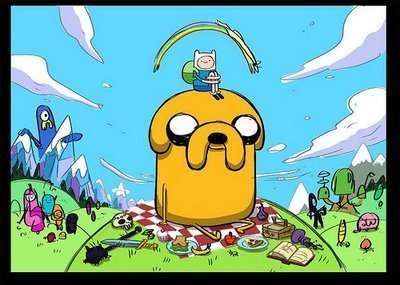 Adventure Time With Finn and Jake wallpaper titled Adventure Time