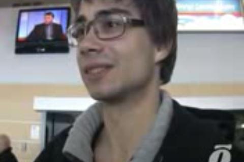 Alexander Rybak in Tallin