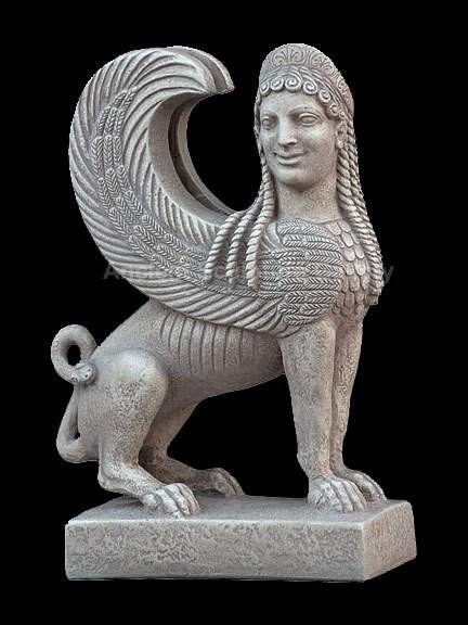 Greek gods and demigods images Ancient Greek Sphinx MET ...
