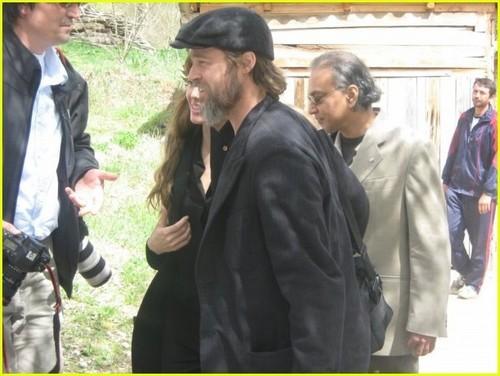 Angelina & Brad in Bosnia