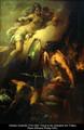 Aphrodite visiting Hephaestus in his smithy