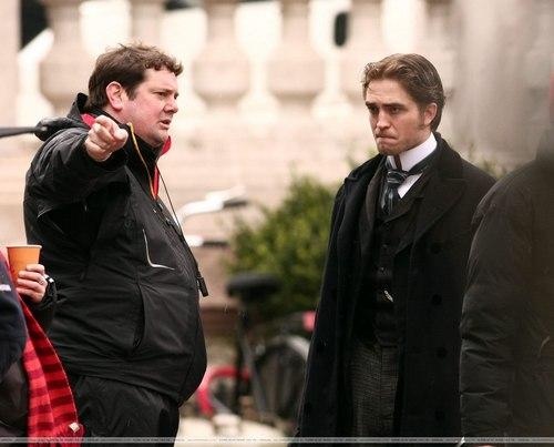 April 6, 2010: Filming 'Bel Ami'