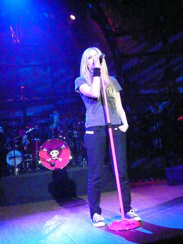 Avril Live images